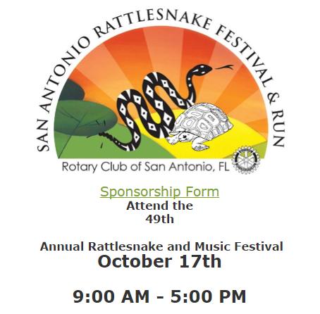 Rattlesnake Festival - Sat Oct. 17